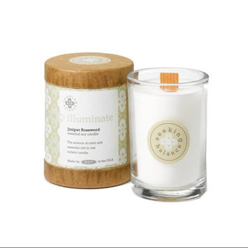Root Scented Seeking Balance Illuminate Candle, Juniper Rosewood