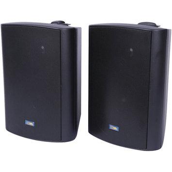 TIC CORPORATION ASP120B Indoor/Outdoor 120-Watt Speakers with 70-Volt Switching