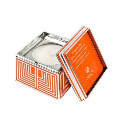 Votivo SOZIETY Trapezoid Tin Candle Outrageous Orange 7oz