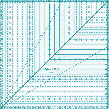Quilt In A Day Inc. Quilt In A Day Square Up Ruler 22