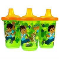 Munchkin Go Diego Go Twist Tight Reusable Spill Proof Cups- 10 oz- 3