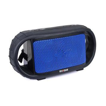ECOXGEAR ECOXBT Waterproof Bluetooth Wireless Rechargeable Speaker - Blue