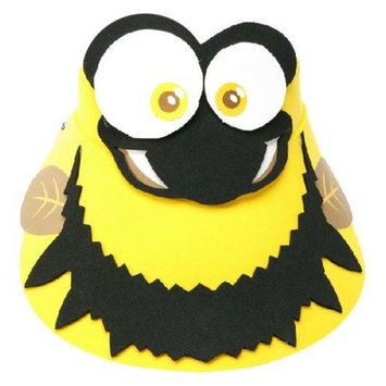 Kids Buzzby Bee Sun Visor 81214-DISC INSECT LORE