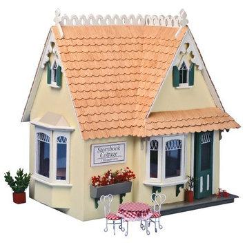 Greenleaf Doll Houses Greenleaf 8021 Storybook Cottage Doll House Kit