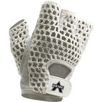 Valeo Leather Lifting Gloves, White, Women's Large (8 - 9), Pair