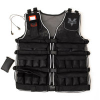 Valeo Weighted Vest up to 20 lbs, Black