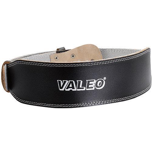 "Valeo, Inc. Valeo Leather Lifting Belt- Black - 4"" Width - Black - Leather"