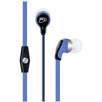 MEElectronics RX12 In-Ear Headphones with mic and remote (red/black)