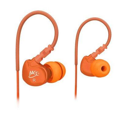 MEElectronics Orange 736211200761 M6 noise isolating sports earphone