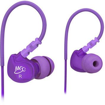 MEElectronics Purple 736211200969 M6 noise isolating sports earphone