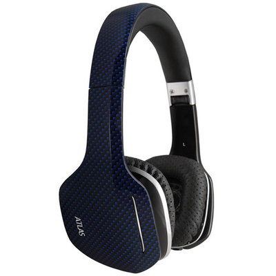 MEElectronics Atlas Carbon IML Graphics On-Ear Headphones with Headset Functionality