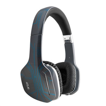 MEElectronics Orion HP-ATLAS-OR-MEE Atlas Orion IML Graphics On-Ear Headphones with Headset Functionality