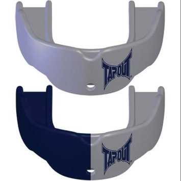 Battle Sports Science Tapout Mouthguard 2-Pack - Youth - Solid Silver and Navy/Silver