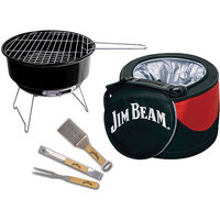 Jim Beam Jb0105 5-piece Cooler & Grill Set