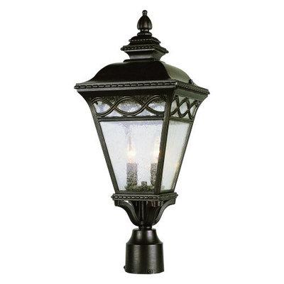 Bel Air Lighting 2-Light Post Top Lantern 50513BRB
