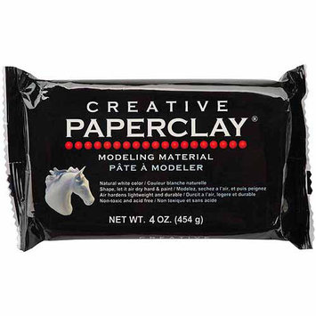 Creative Paperclay 813 Creative Paperclay 4 Ounces-White