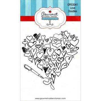 Gourmet Rubber Stamps Cling Stamps 3.25