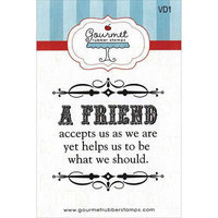Gourmet Rubber Stamps Cling Stamps 2.75