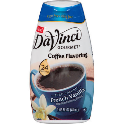 DaVinci Gourmet French Vanilla Coffee Flavoring, 1.62 fl oz