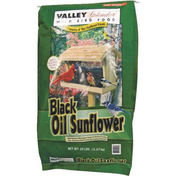 Valley Splendor 20 lbs. Black Oil Sunflower Bird Food - RED RIVER COMMODITIES, INC.