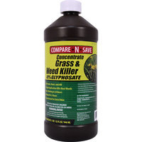 Compare-N-Save Grass And Weed Killer Glyphosate Concentrate