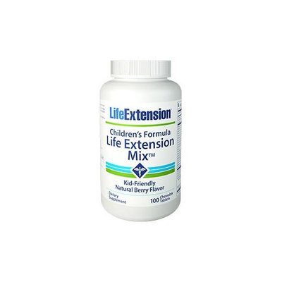 Children's Formula Life Extension Mix, 100 chewable tablets