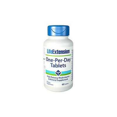Life Extension One Per Day Tablets - 60 Tablets