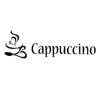 Fox Hill Trading Cappuccino Style Vinyl Wall Decal Color: White, Size: 46