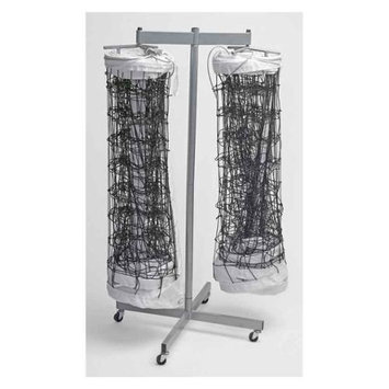 Tandem Sports Tandem Sport TSDOUBLENET Double Net Storage Rack
