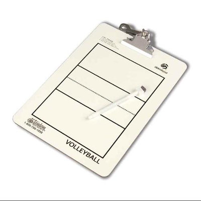 Tandem Sport TSCLIP-VB Coaches Clipboard V-Ball