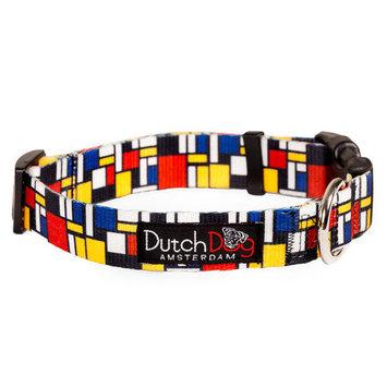 Dutch Dog Amsterdam DDCLMD20 15-20 Mondrian Dog Collar