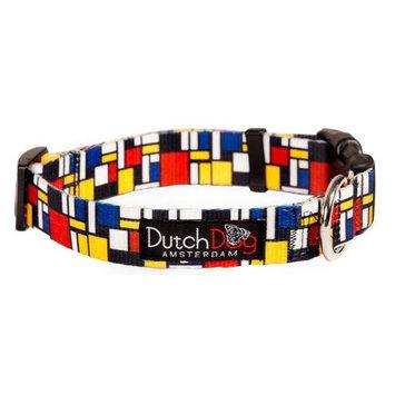 Dutch Dog Amsterdam DDCLMD15 10-15 Mondrian Dog Collar