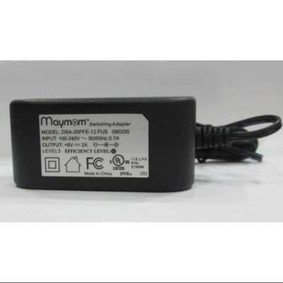 MayMom AC Adapter for Medela 9V Pump-in-Style Breast Pump