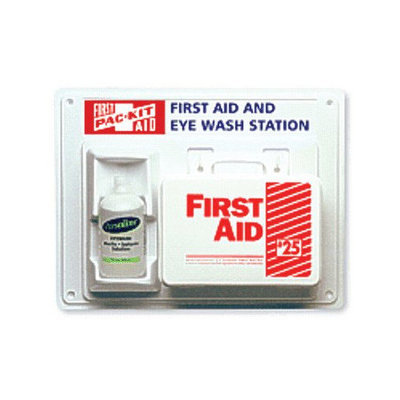 Pac-Kit First Aid Kits Contractor First Aid & Eyewash Station