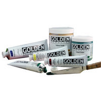 Golden Heavy Body Artist Acrylics, 1007 Bismuth Vanadate Yellow, 4 oz