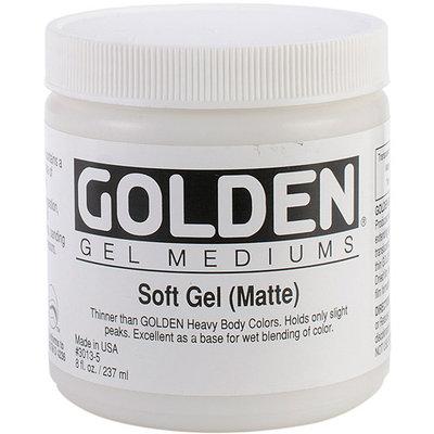 Golden 0003013-5 Matte Soft Gel Medium 8 oz