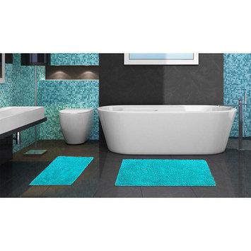 Popular Bath Products 2 Piece Chenille Bath Rug Set