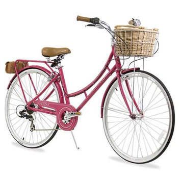 XDS Nadine7Red Nadine 7-Speed Aluminum Dutch Bike Red