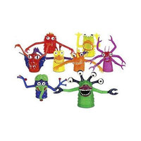 Accoutrements Monster Finger Puppets Toy - 8 Count