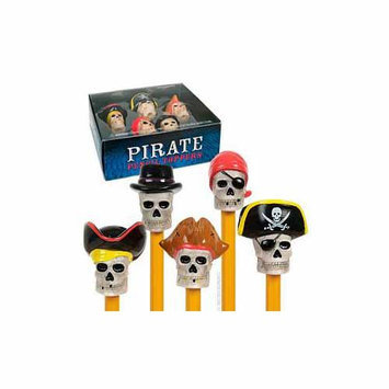 Accoutrements Pirate Pencil Toppers 5-Pack