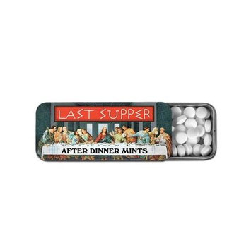 Accoutrements Last Supper After Dinner Mints in Collectible Tin