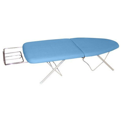 Sullivans Go Board Portable Ironing Board, Blue