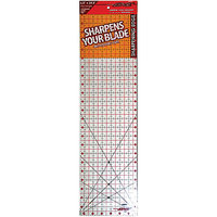 Sullivans The Cutting EDGE Clear Ruler, 6-1/2