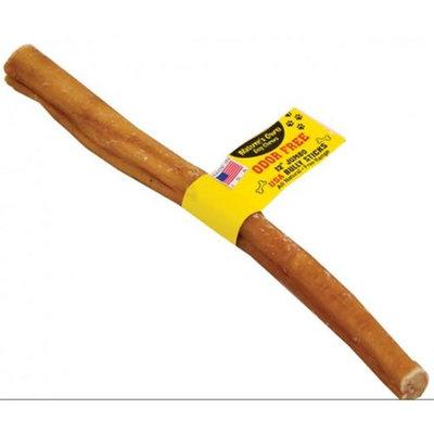 Best Buy Bones 007642 12 in. Natures Own Odor-free Bully Sticks - Case of 20