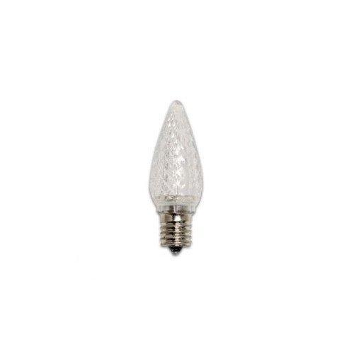 Bulbrite Industries 0.35W LED C9 Bulb in Purple (Set of 25)