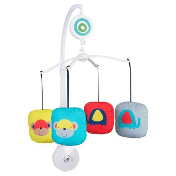 Sumersault Zoo Squares Musical Mobile