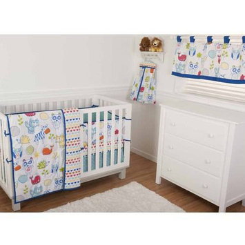 Sumersault Ltd Sumersault Ink Sketch 4 Piece Crib Set