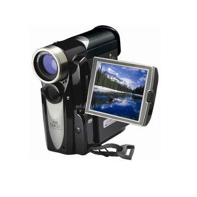 Mitsuba MIT305 12MP 4x Digital Zoom Camera-Camcorder- Black