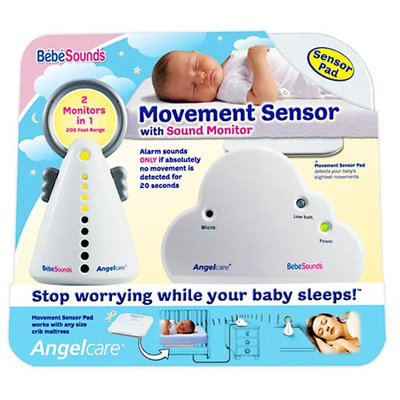 BebeSounds AngelCare AC-201 Baby Movement Sensor and Sound Monitor