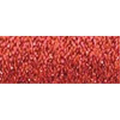 Kreinik 14290 Kreinik Very Fine Metallic Braid No. 4 11 Meters - 12 Yards -Red